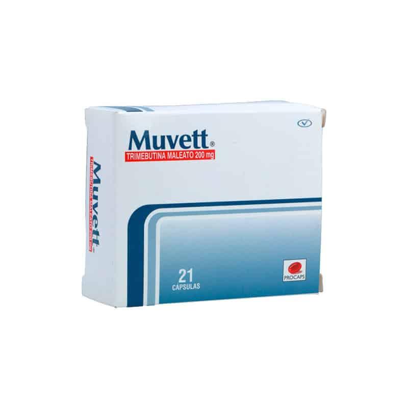 MUVETT 200MG X 21CAP.PC