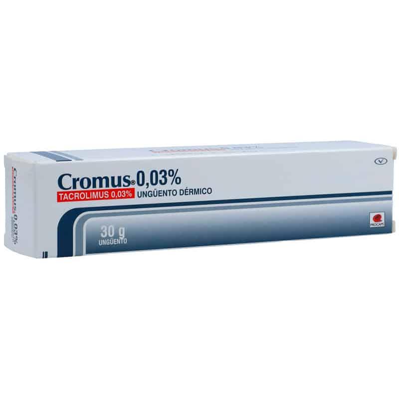 CROMUS 0.03% UNGUENTO X 30GR.PC