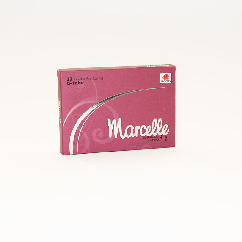 MARCELLE 2MG/1MG X 28TAB G-TABS PC