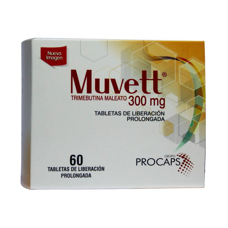 MUVETT 300 MG X 60TAB