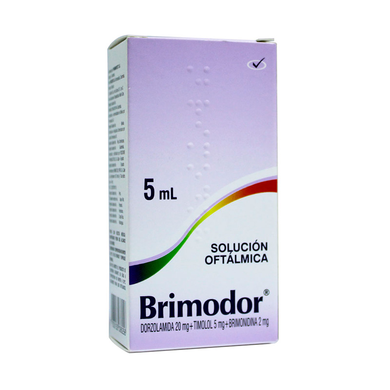 BRIMODOR SOL.OFTALMICA X 5ML PC
