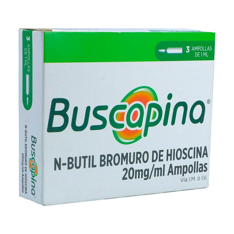 BUSCAPINA 20MG/ML X 3AMP.1ML.BI