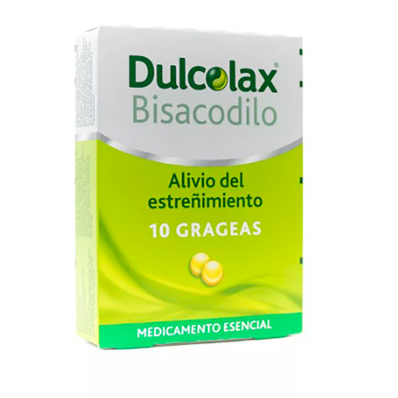 DULCOLAX BISACODILO X 10GRAGEAS.SF