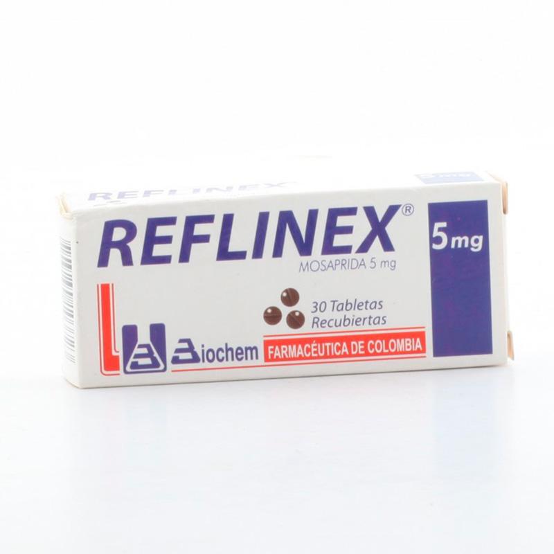 REFLINEX 5 MG 30 TBS