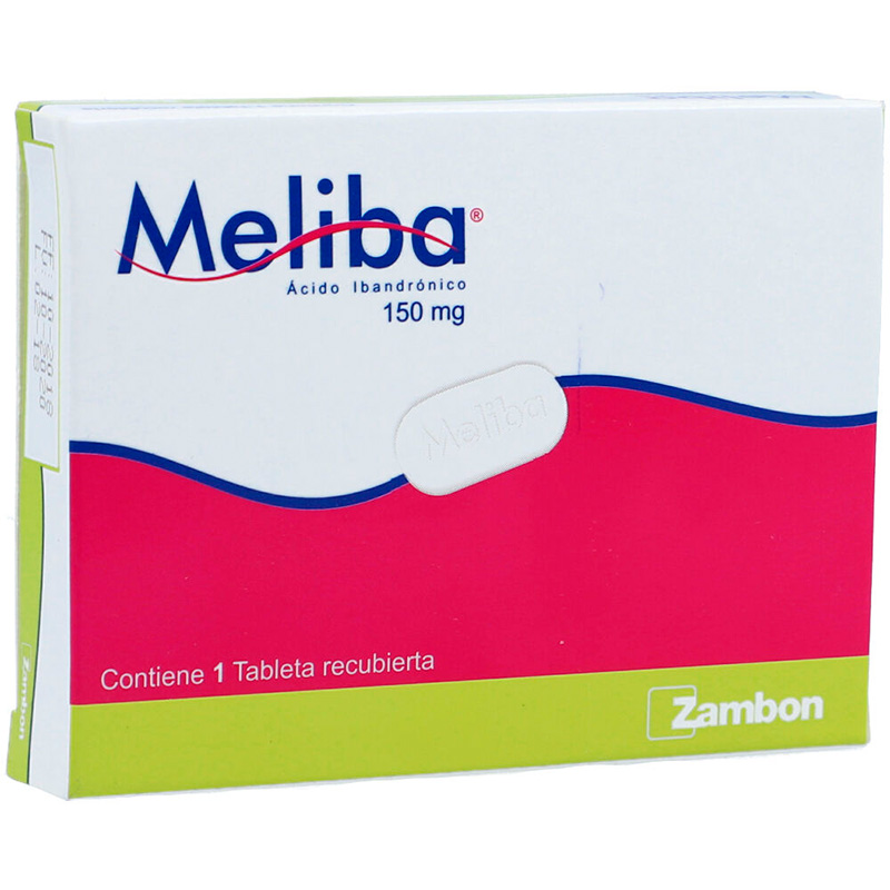 MELIBA 150MG X 1TAB.ZBN