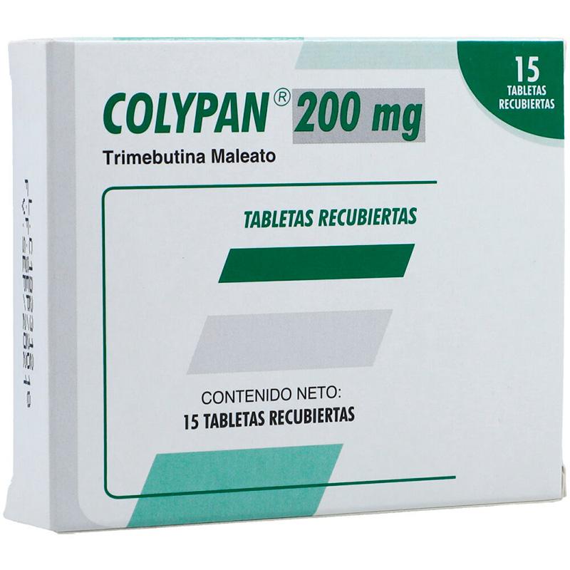 COLYPAN 200 MG 15 TABLETAS