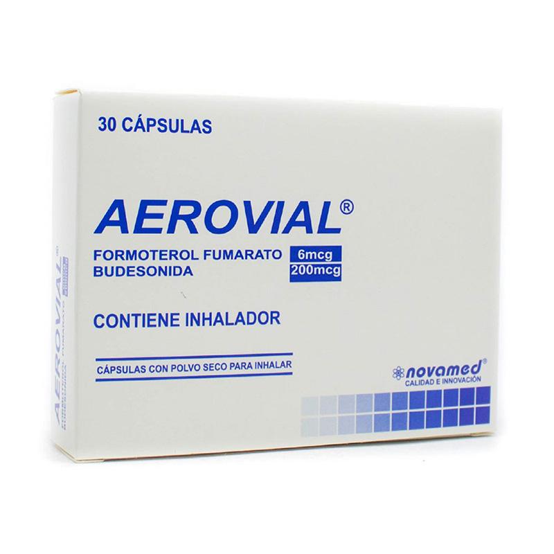 AEROVIAL 200/6MCG X 30CAP..NM