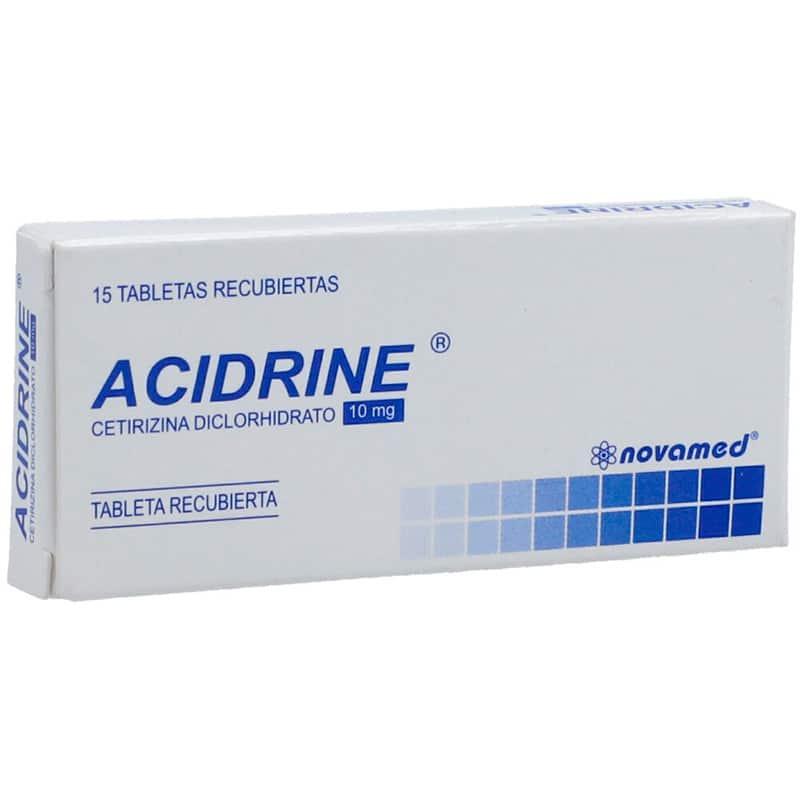 ACIDRINE 10MG X 15TAB.NM