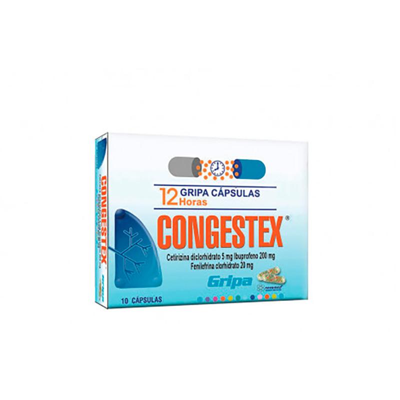 CONGESTEX X 10CAP NM