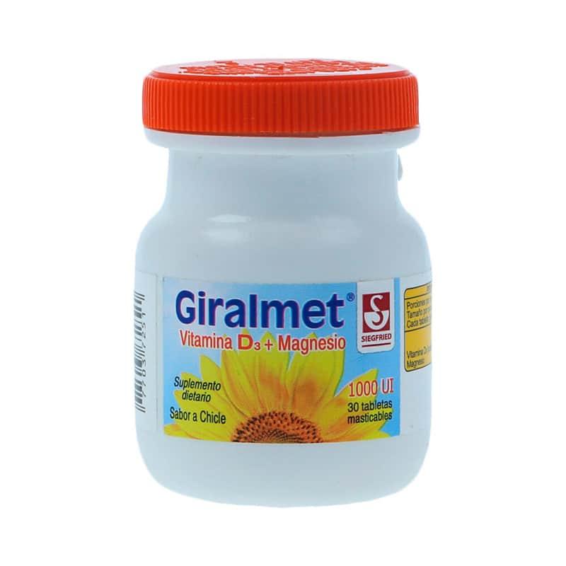 GIRALMET VITAM.D3 1000 U.I X 30TAB.LAB.SIG