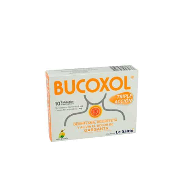 BUCOXOL TRIPLE ACCION MIEL LIMON X 10TAB LS