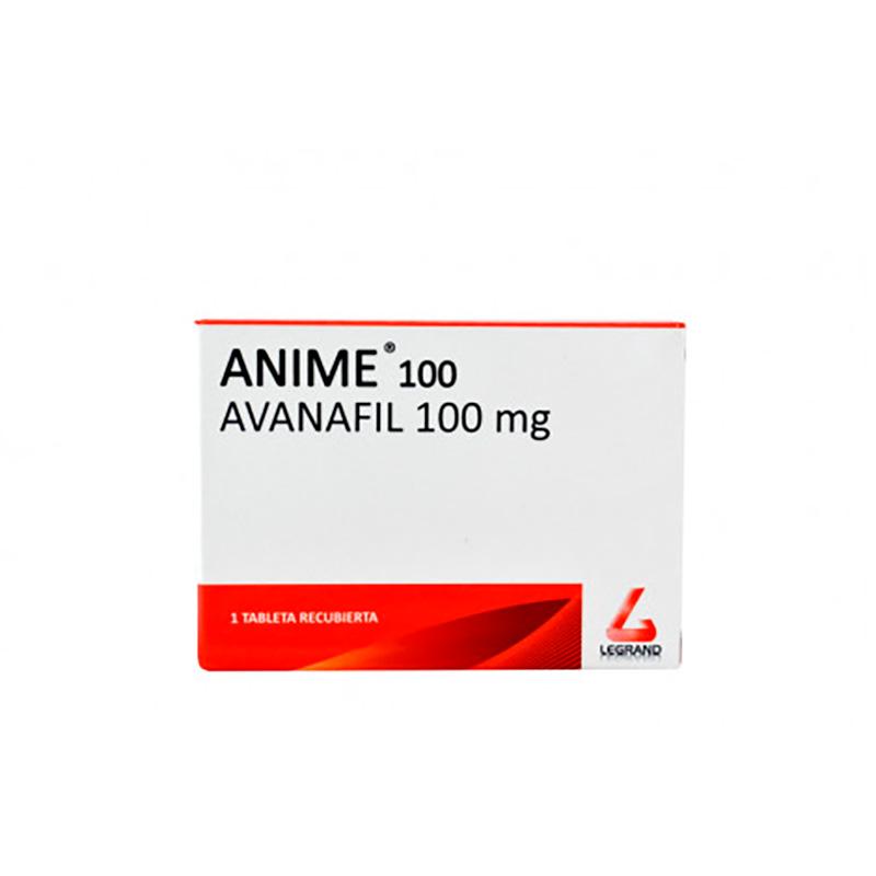 ANIME AVANAFIL 100MG X 1TAB.LG