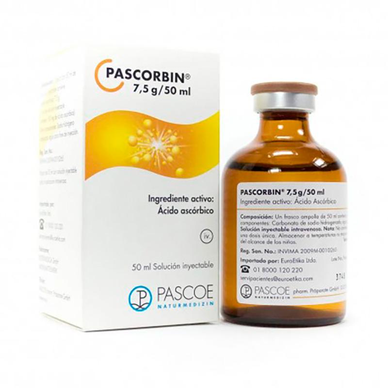 PASCORBIN 7.5 G 50 ML