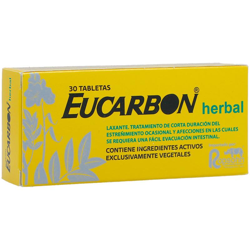 EUCARBON HERBAL X 30TAB.RT