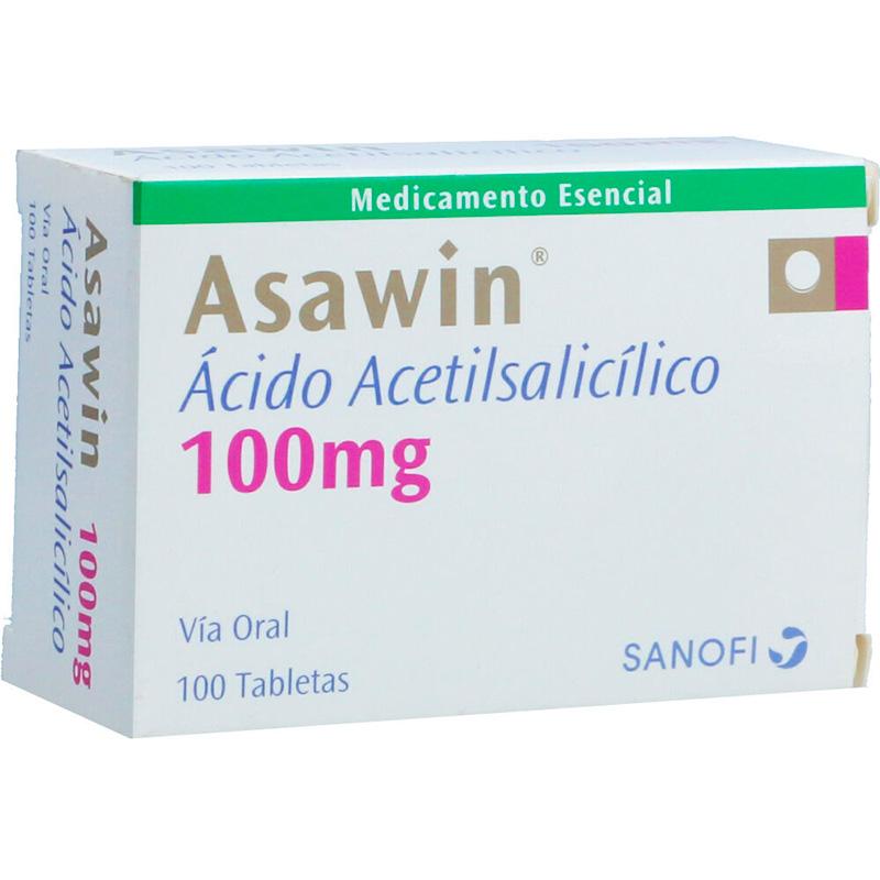 ASAWIN 100MG X 100TAB.SN