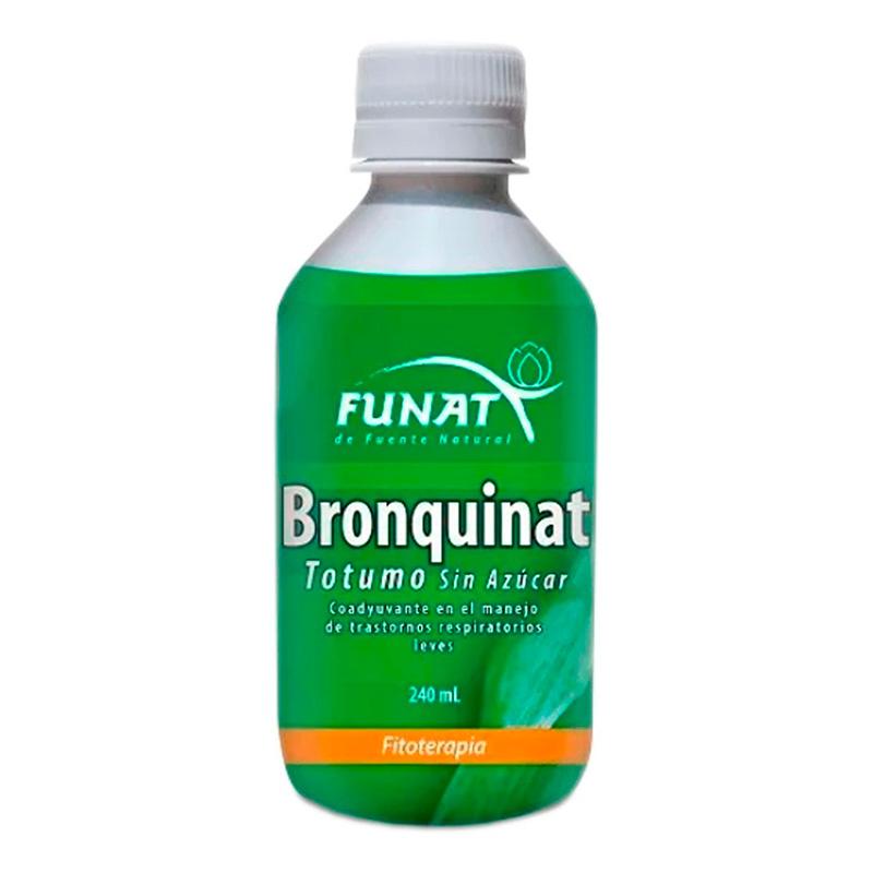 BRONQUINAT TOTUMO SIN AZUCAR FITOTERAPIA X 240ML.FT