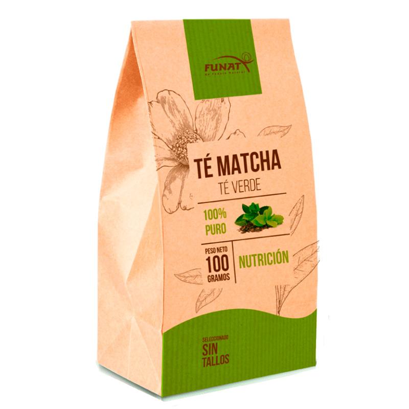 TE MATCHA NUTRICION SIN TALLOS X 100GR FUNAT