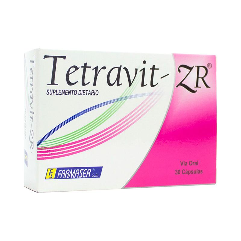 TETRAVIT-ZR X 30CAP.FS