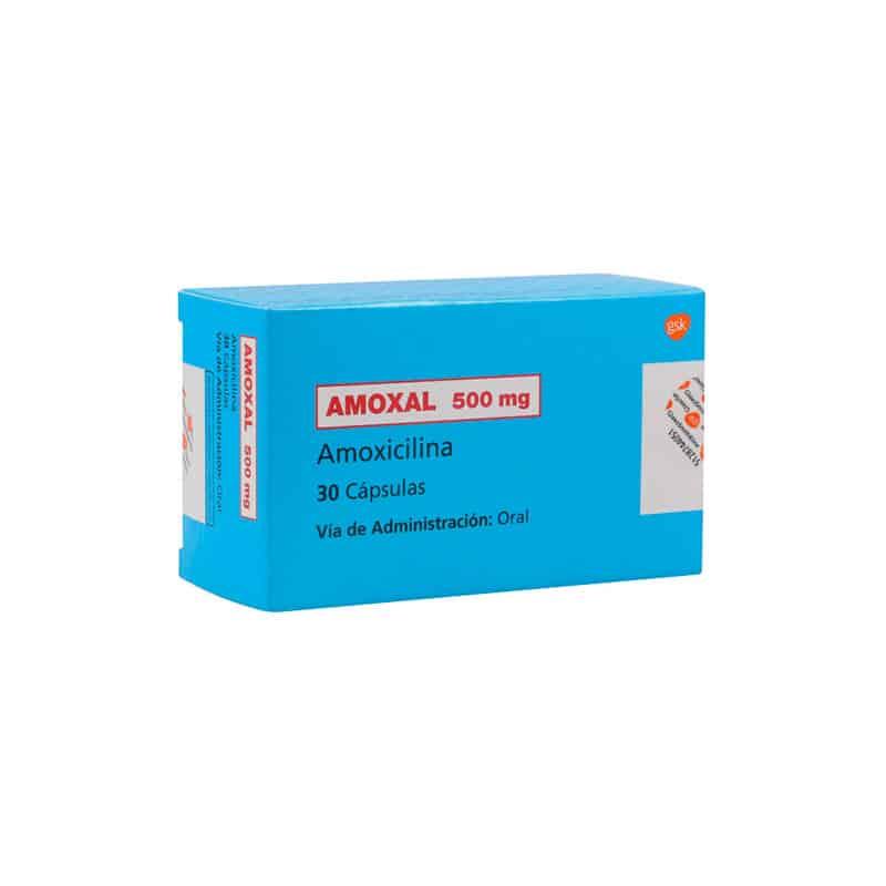 AMOXAL 500MG X 30CAP GSK