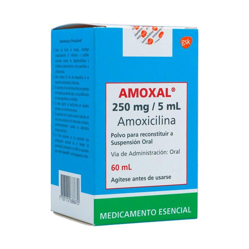 AMOXAL 250MG SUSP. X 60ML.GSK