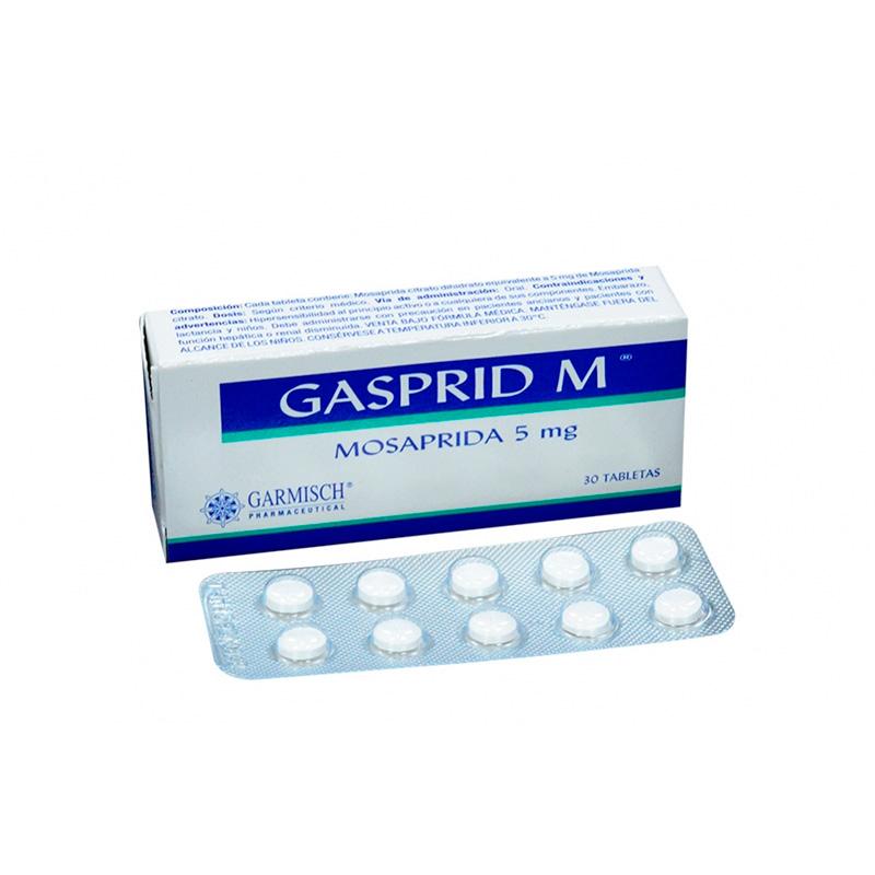 GASPRID M 5MG X 30TAB.GP