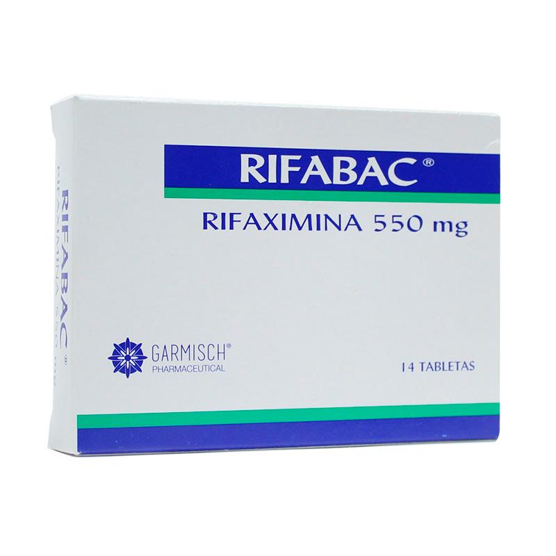 RIFABAC 550MG X 14TAB.GP