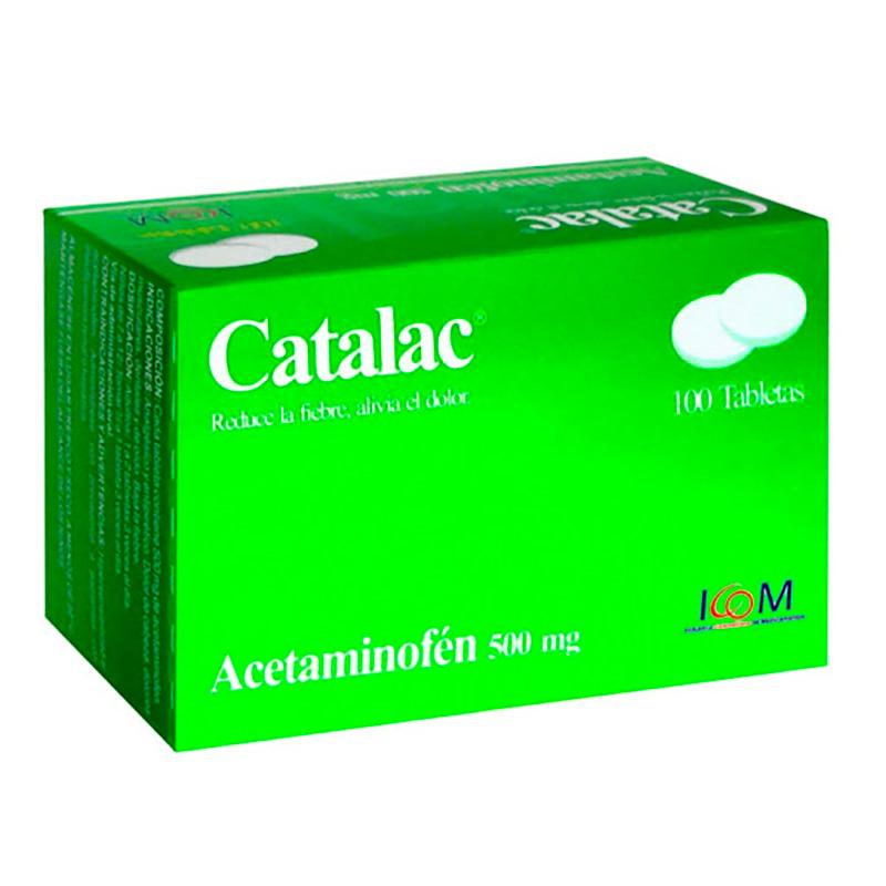 CATALAC 500MG X 100TAB ICOM