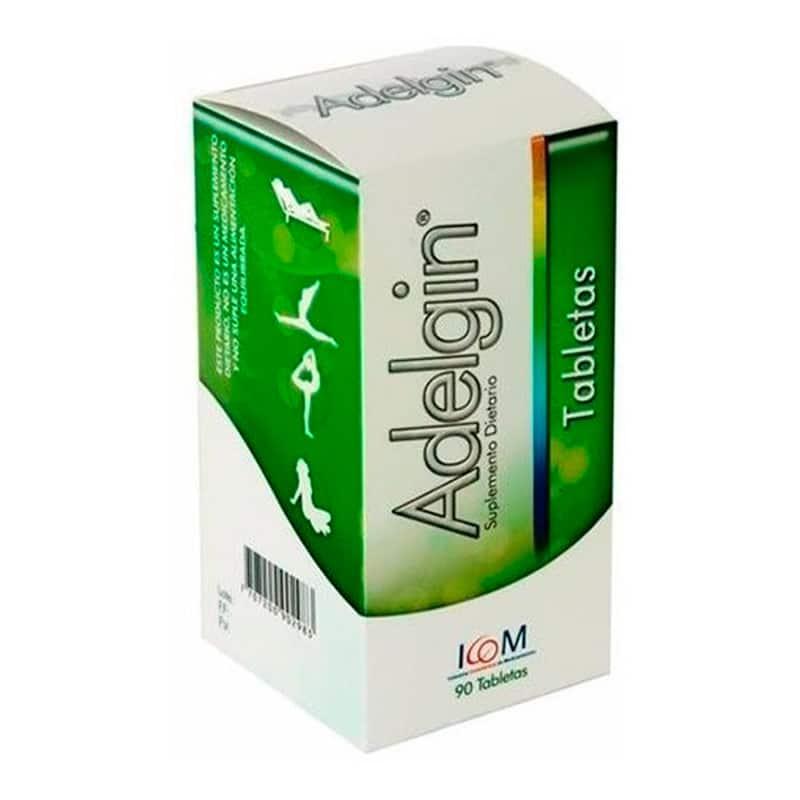 ADELGIN SUPLEMENTO DIETARIO X 90TAB.IC