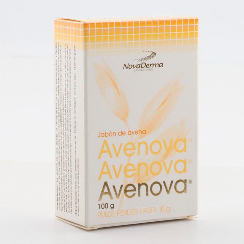 JABON AVENA AVENOVA X 100GR.ND