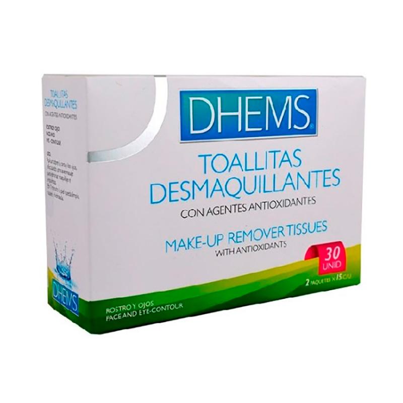 DHEMS TOALLITAS DESMAQUILLANTES X 30UD