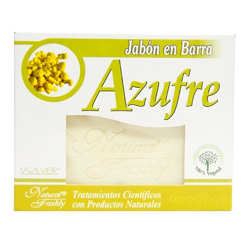 JABON AZUFRE NATURAL FRESLHEY