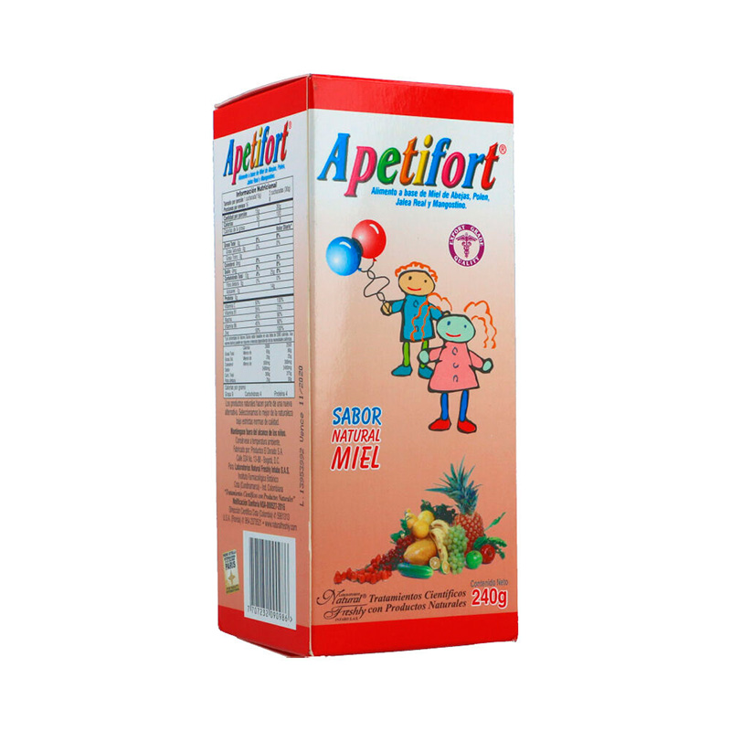 APETIFORT MIEL X 240ML.NF