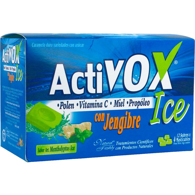 ACTIVOX ICE X 12SOB X 4TAB NF