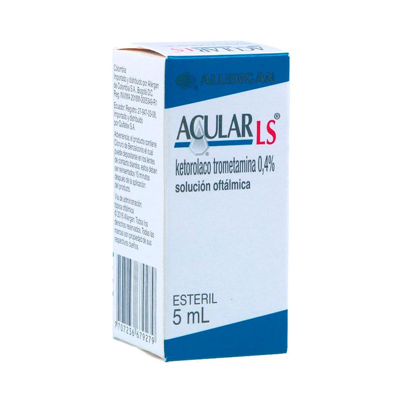 ACULAR LS 0.4% SOL.OFTAL. X 5ML.ALL