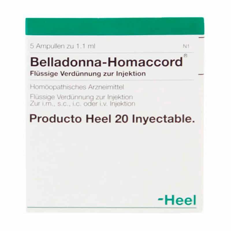 BELLADONNA-HOMACCORD X 5AMPOLLA.H