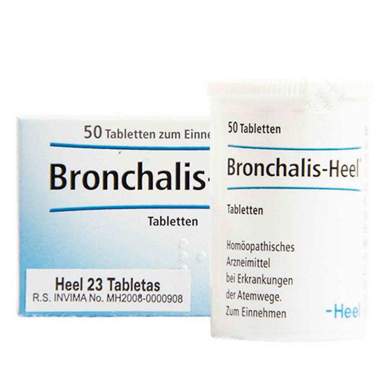 BRONCHALIS-HEEL 50 TABLETAS HC