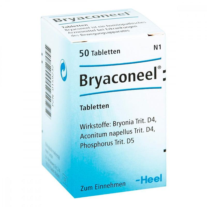 BRYACONEEL X 50TAB.H