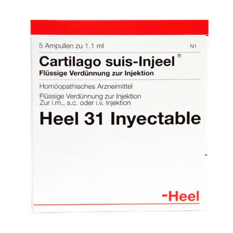 CARTILAGO SUIS INJEEL X 5AMP.H