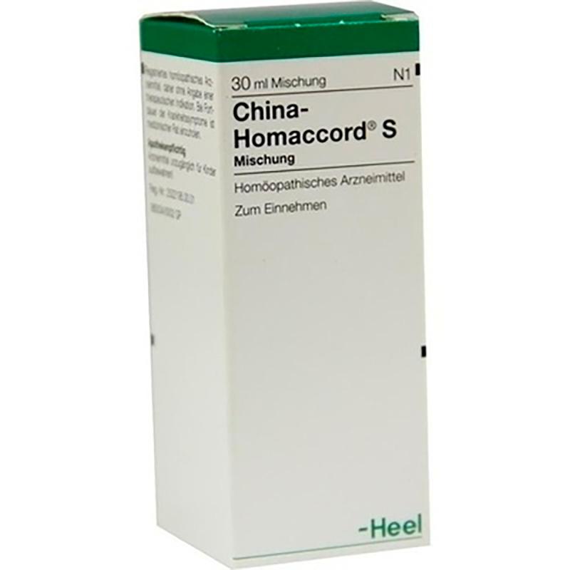 CHINA-HOMACCORD S X 30ML.H