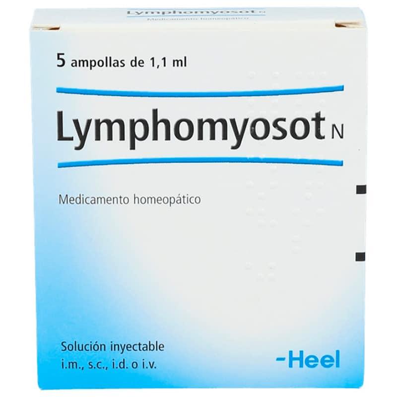 LYMPHOMYYOSOT N X 5AMPOLLAS 1.1.ML.H