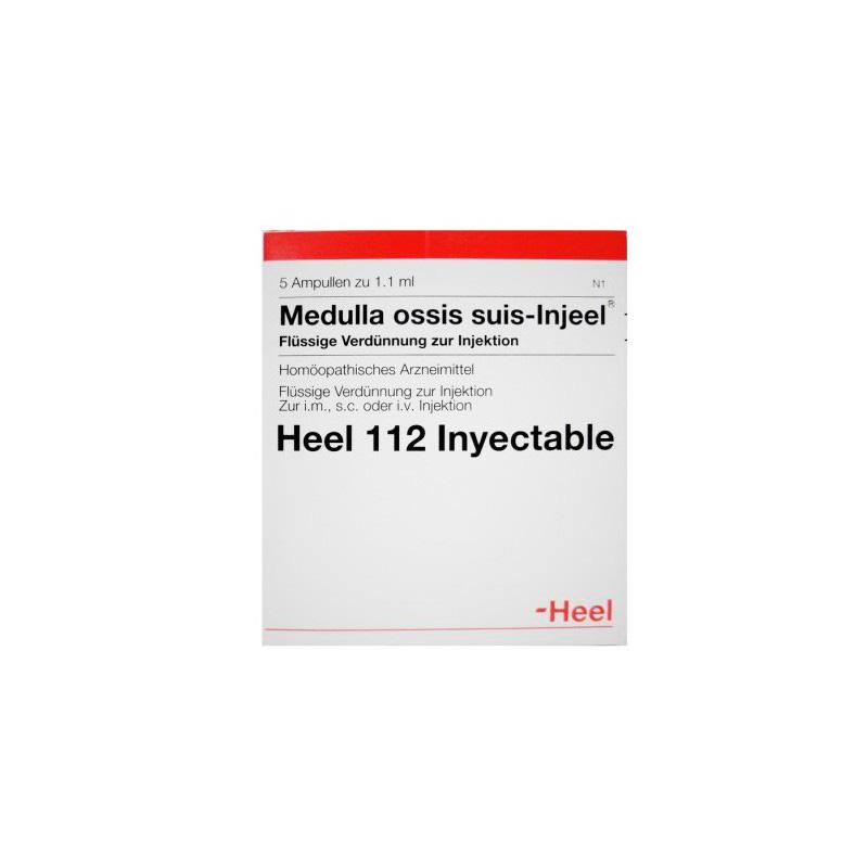 MEDULLA OSSIS SUIS INJEEL X 5 AMPOLLAS HEEL