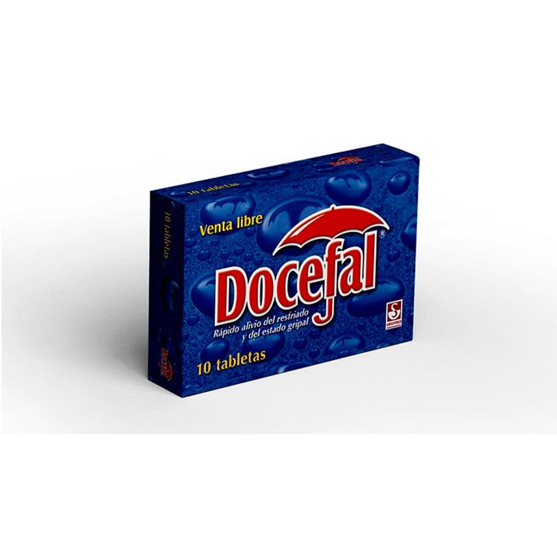 DOCEFAL X 10TAB