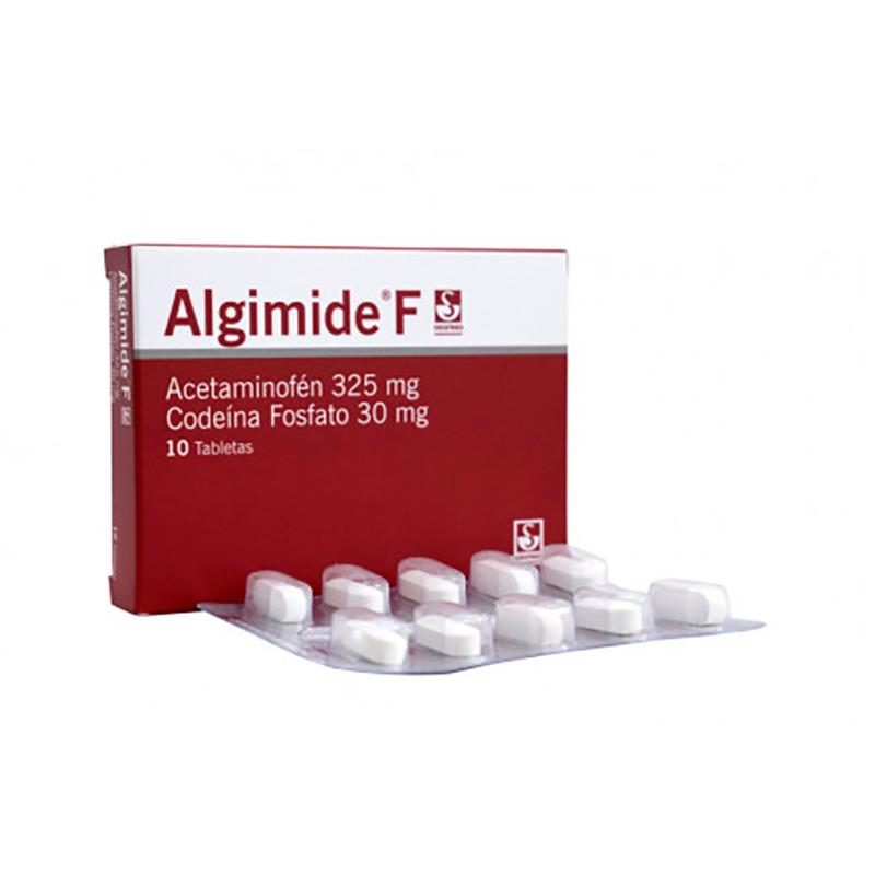 ALGIMIDE F 325MG X 10TAB