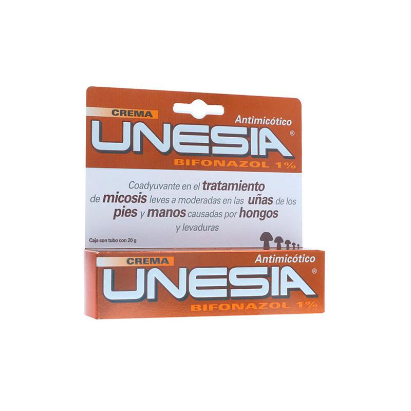UNESIA CREMA 1% X 20GR.GL