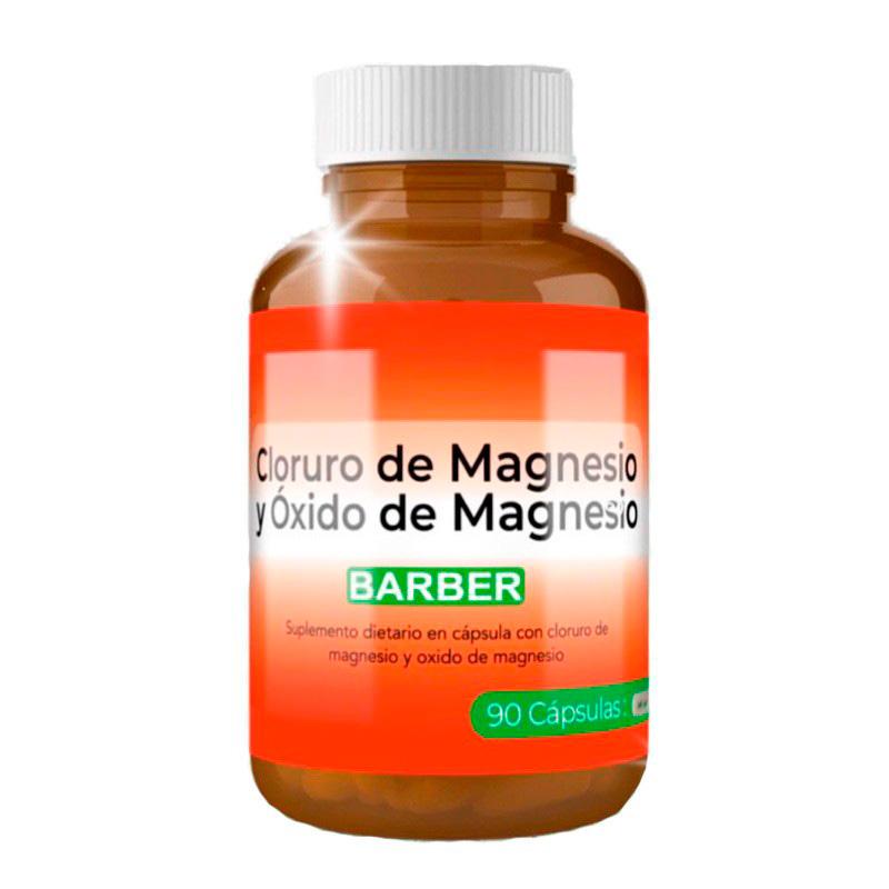BARBER CLORURO DE MAGNESIO X 90CAP.BG