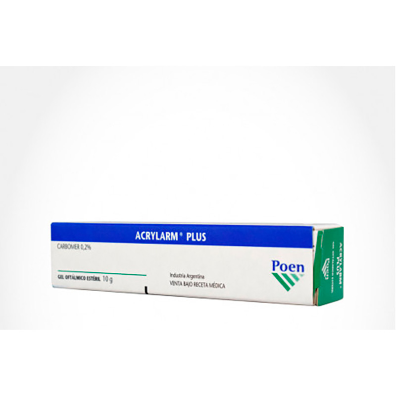ACRYLARM PLUS 0.2%GEL OFTALMICO X 10GR.SP