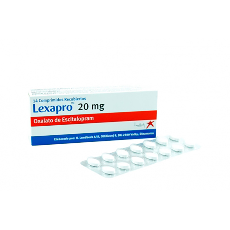 LEXAPRO 20MG X 14COMP BIOLATAM