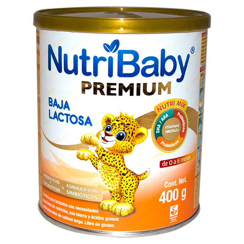 NUTRIBABY PREMIUM BAJA LACTOSA X 400GR.SG