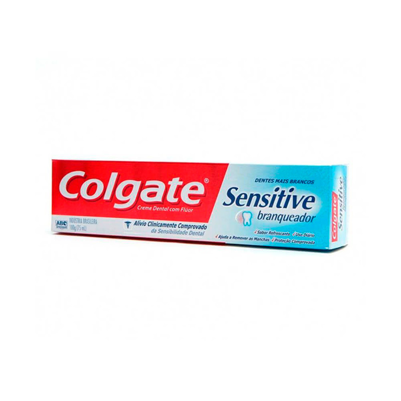 COLGATE SENSITIVE  BLAQU X 100GR
