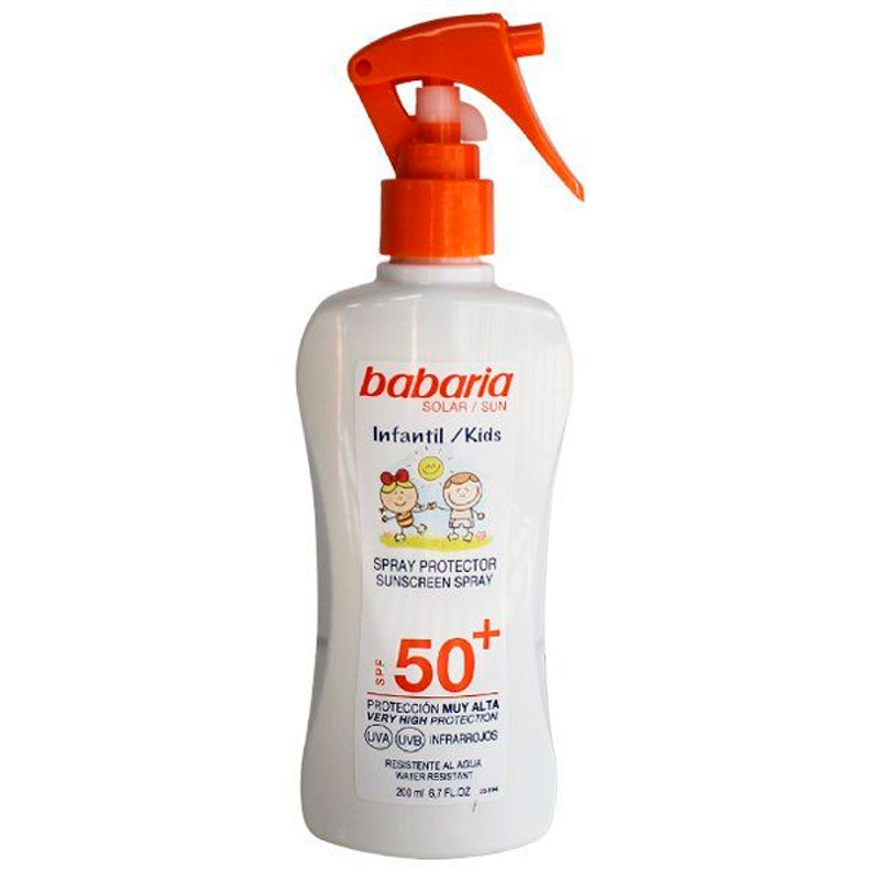 PROT SOL BABARIA SPR INF SPF 50 200ML LB